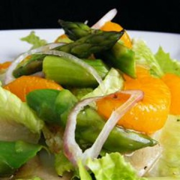 Orange, Asparagus and Endive Salad