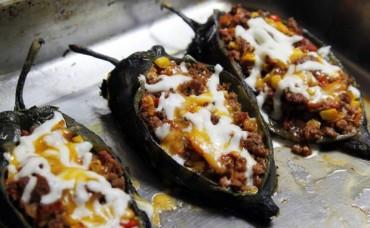 Corn-Stuffed Poblano Chiles