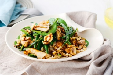 barley nut salad