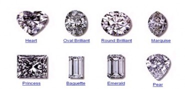 diamonds with different cuts