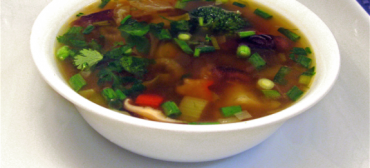 chinese veg trio soup