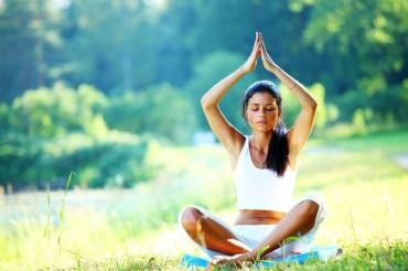 meditate woman