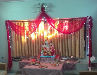 decorations for ganesha
