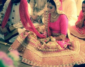 real indian bride