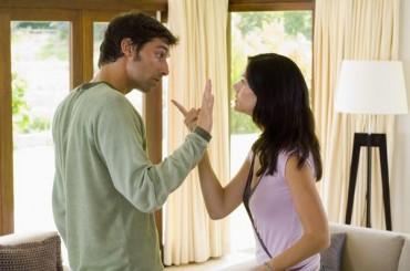 woman man argue