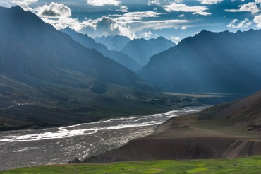 Spiti valley river