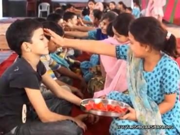 celebrating bhai duj