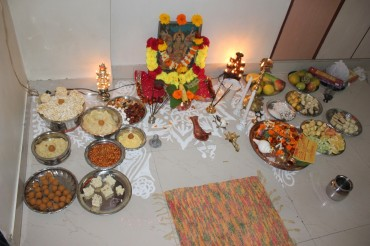 lakshmi puja preparation