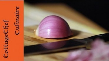 onion slicing