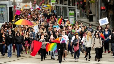 homosexuality rally
