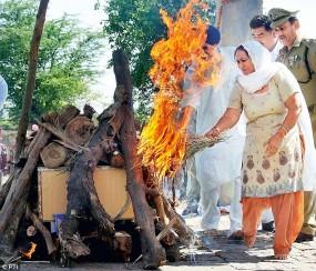 woman agni sanskar