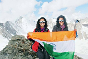 Explorer Grand Slam India Twin sisters