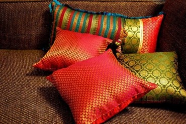 cushion saree