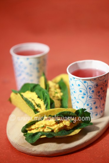 Carrot Cream Tacos MugdhaSavkar