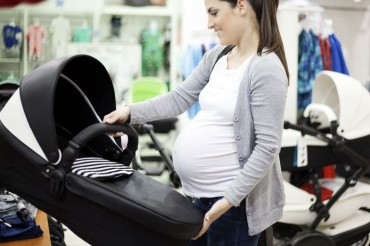 Pregnant Woman Shopping 1