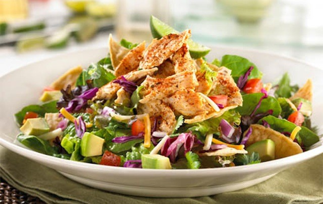 Image result for mexican chicken salad