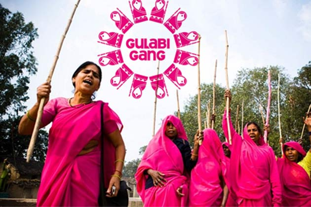 The Gulabi Gang Bags Awards For Their Courage