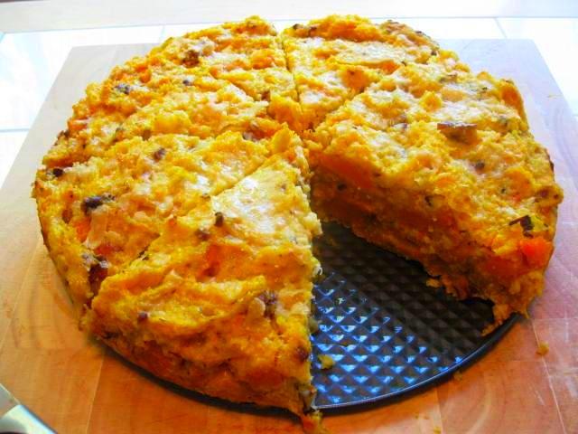 Polenta Casserole Recipe Cheesy polenta and egg casserole