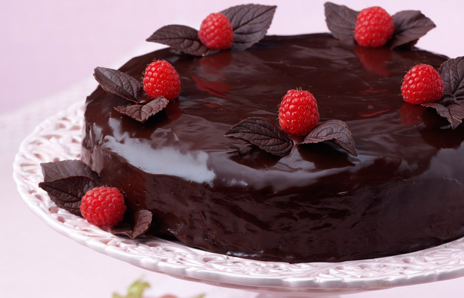Chocolate cake truffle dessert