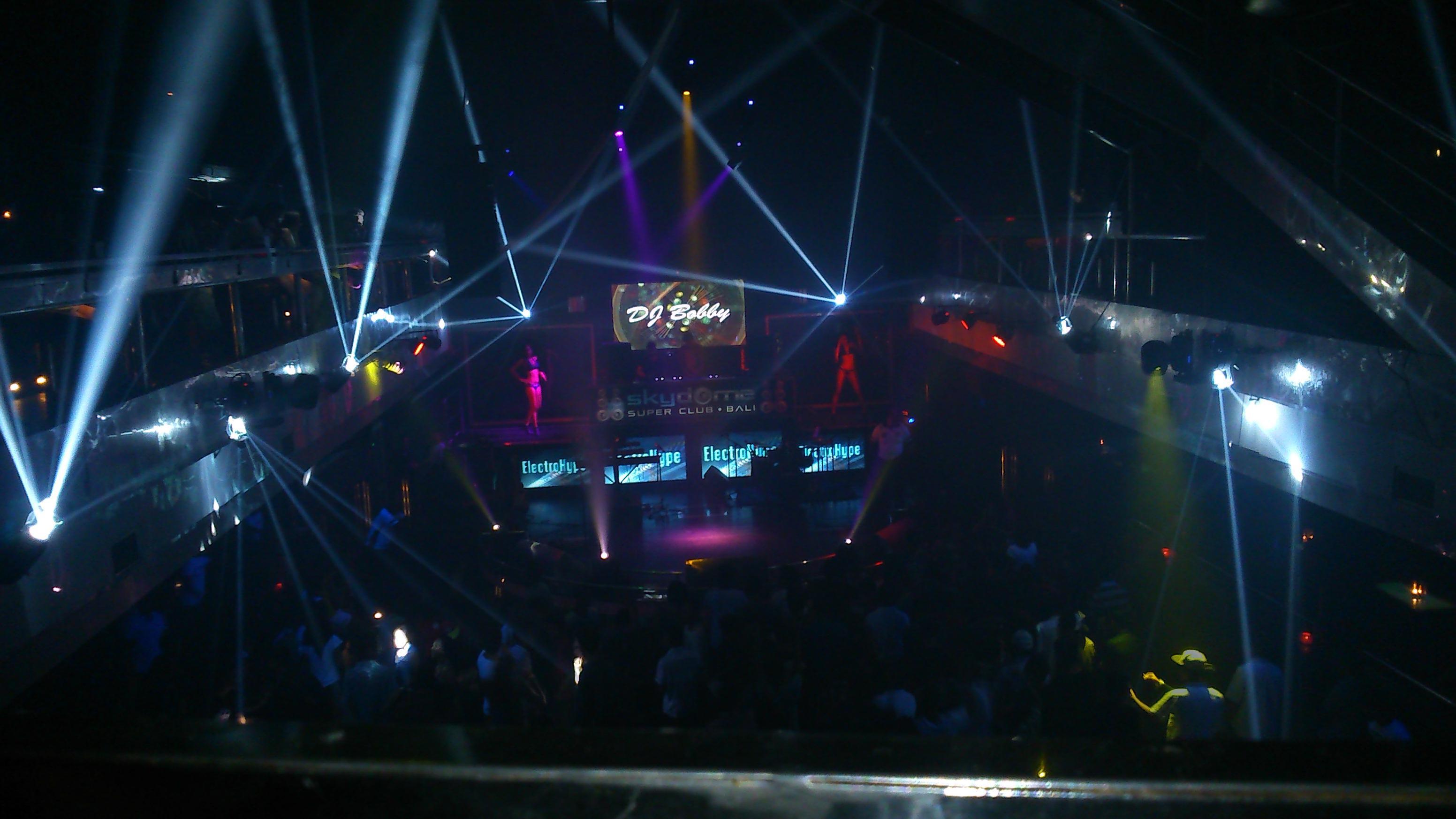 Legian night club