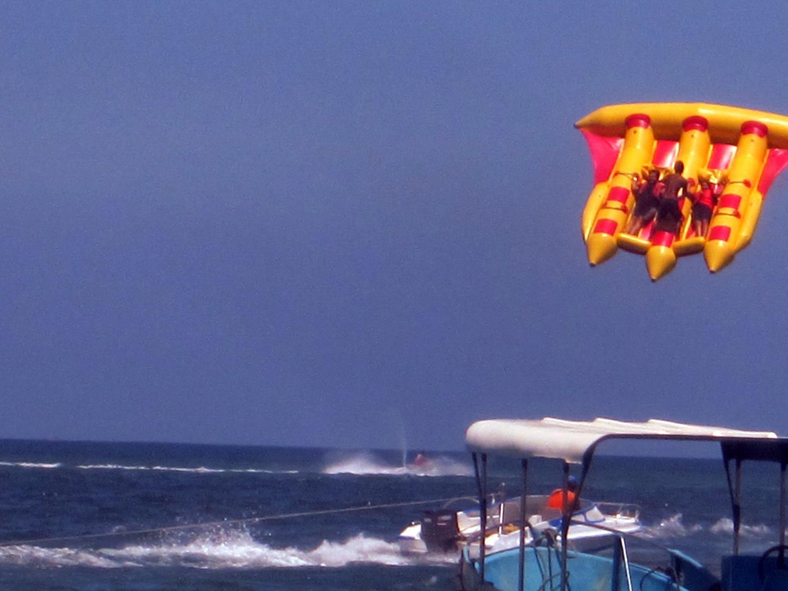water sports at nusa