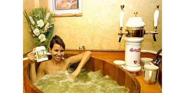Beer-bath
