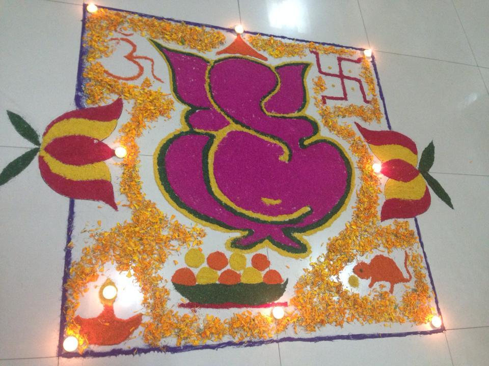 Rangoli by Bineeta Joshi