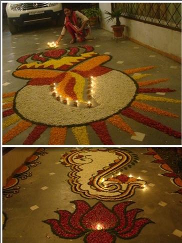 Rangoli by Pooja Aggarwal
