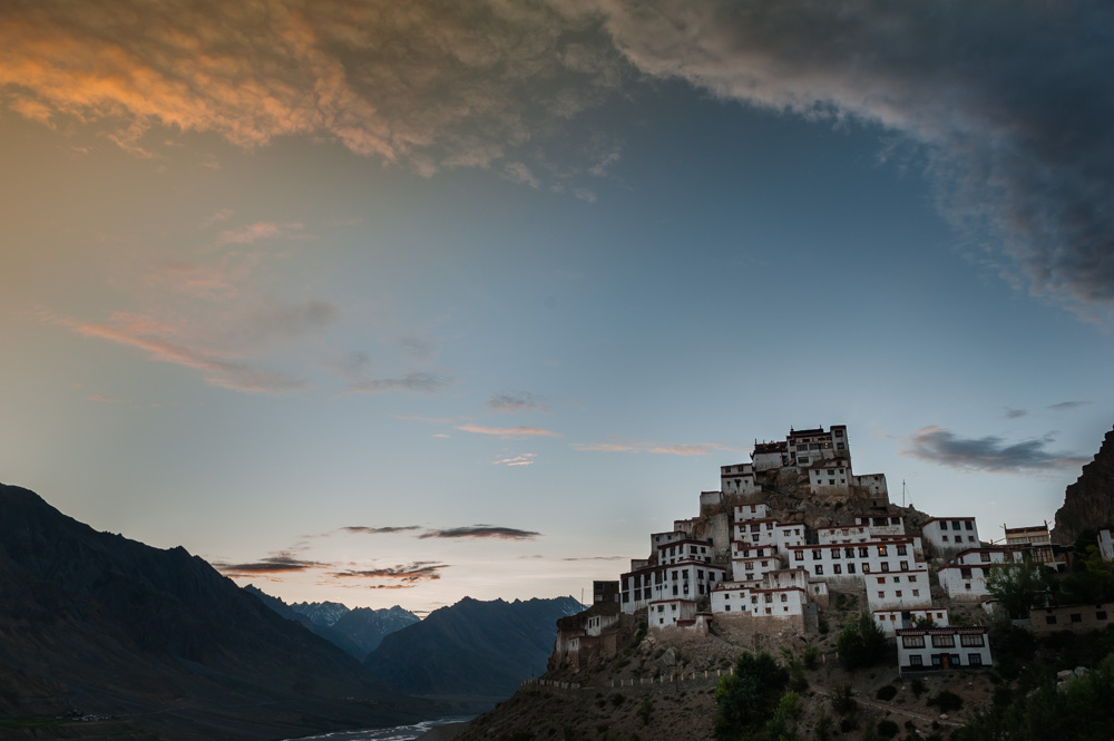 Spiti valley monestry