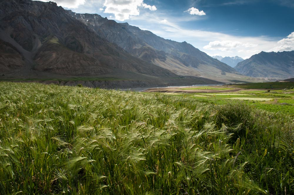 Spiti valley open lands