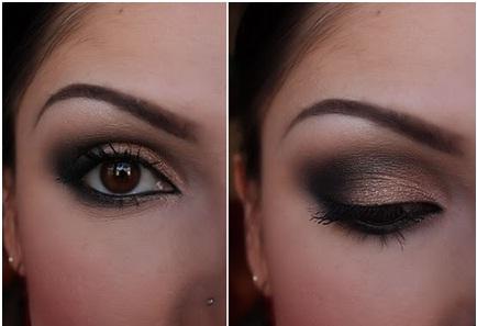 diwali makeup eyes