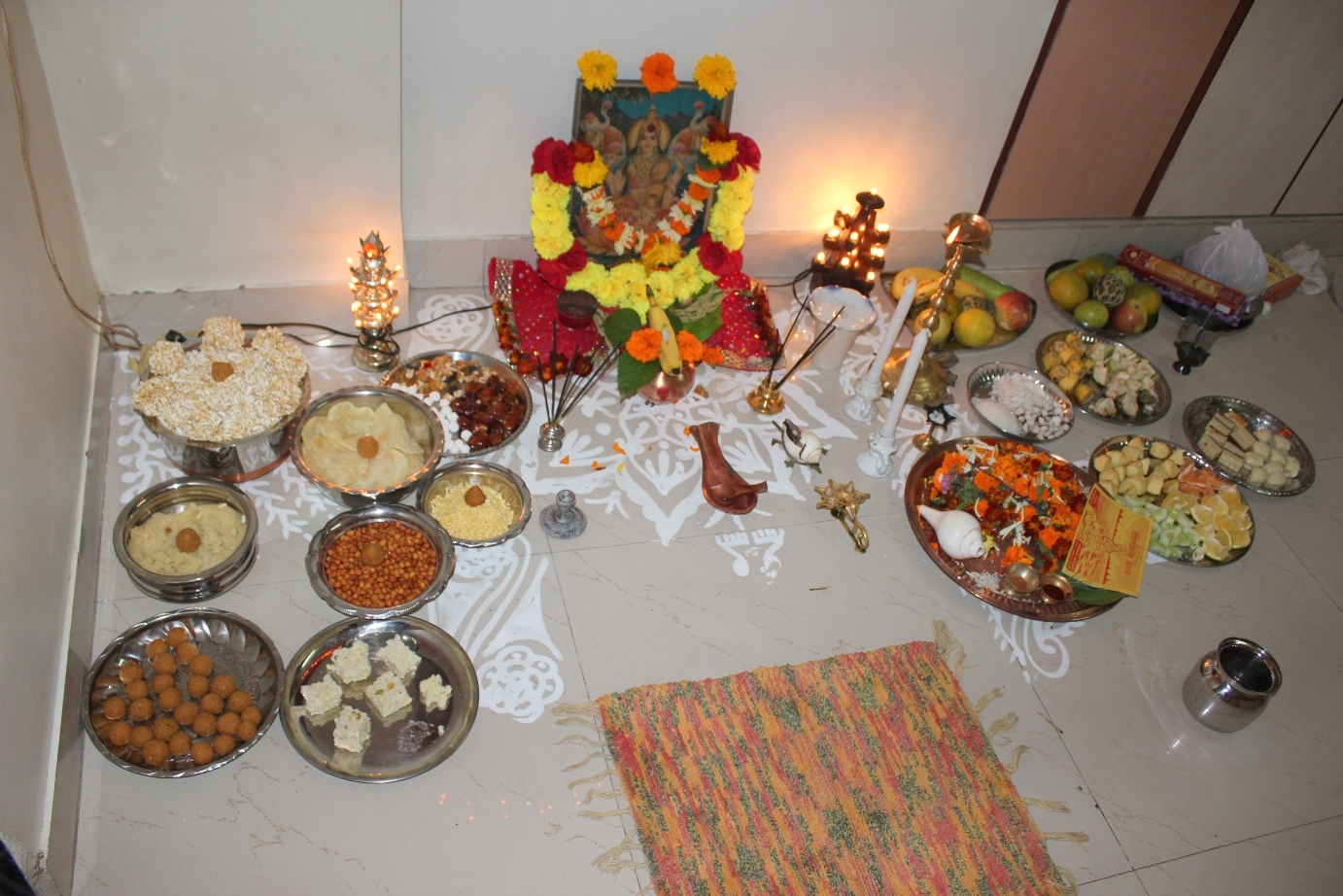 getting blessed how to do lakshmi puja on diwali