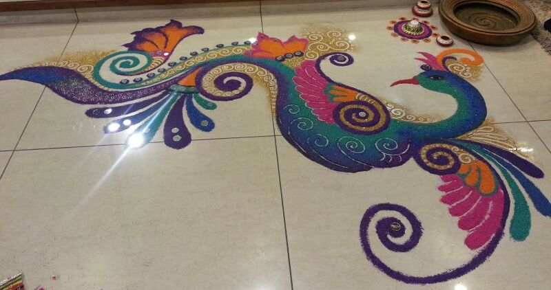 rangoli competition 2014