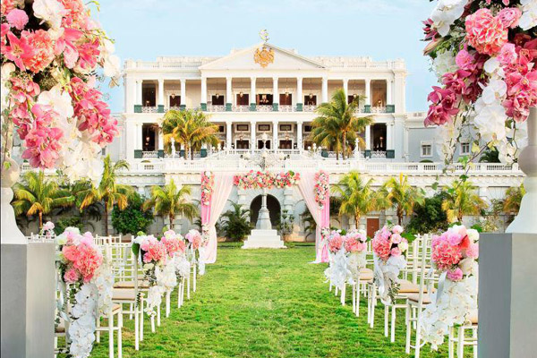 arpita khan's wedding venue