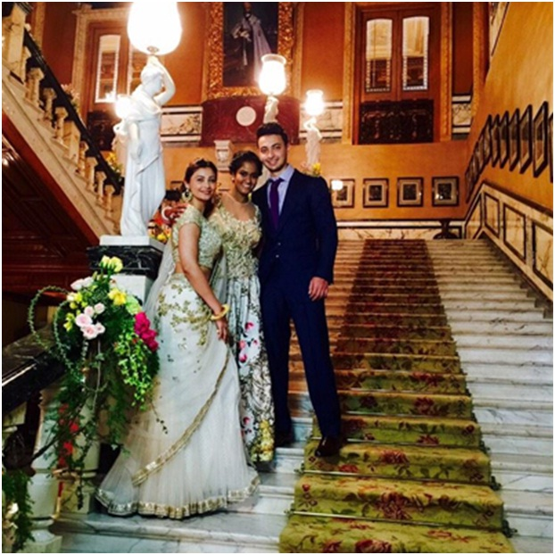 historic monument wedding