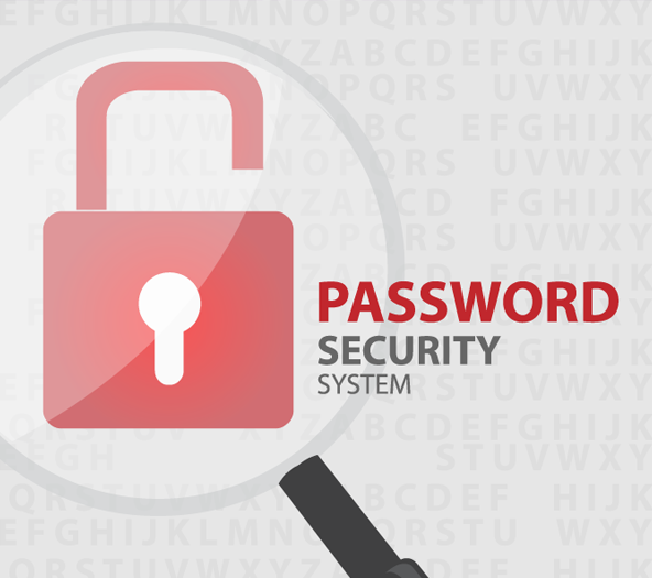 password secured site
