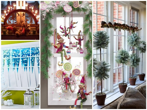 Christmas special d cor ideas for your home for Christmas home window decorations ideas