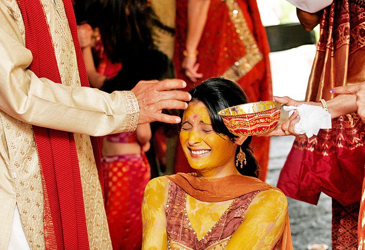 wedding haldi ceremony