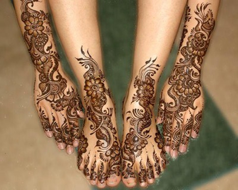 Mehndi Hands And Feet