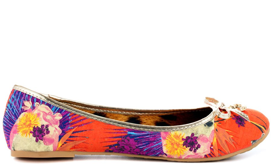 Flat Colorful Ballet