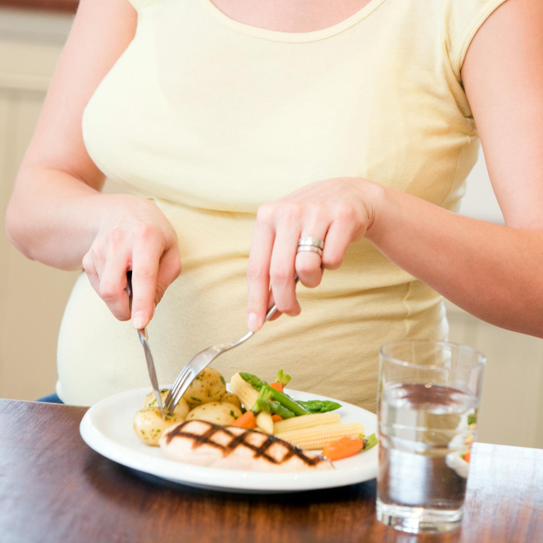 Resultado de imagen para pregnant EATING MEAT