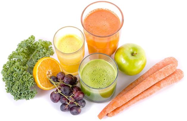 fruit and juices