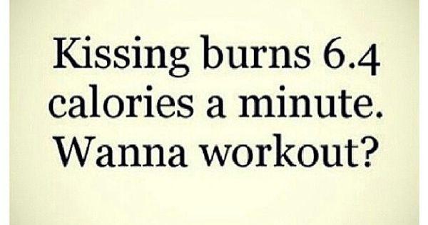 kissing calorie