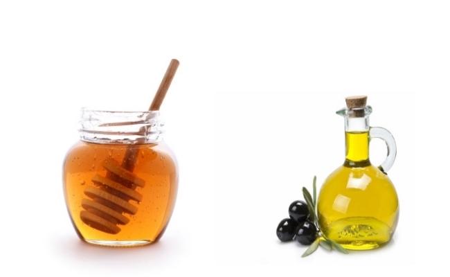 honey olive oil