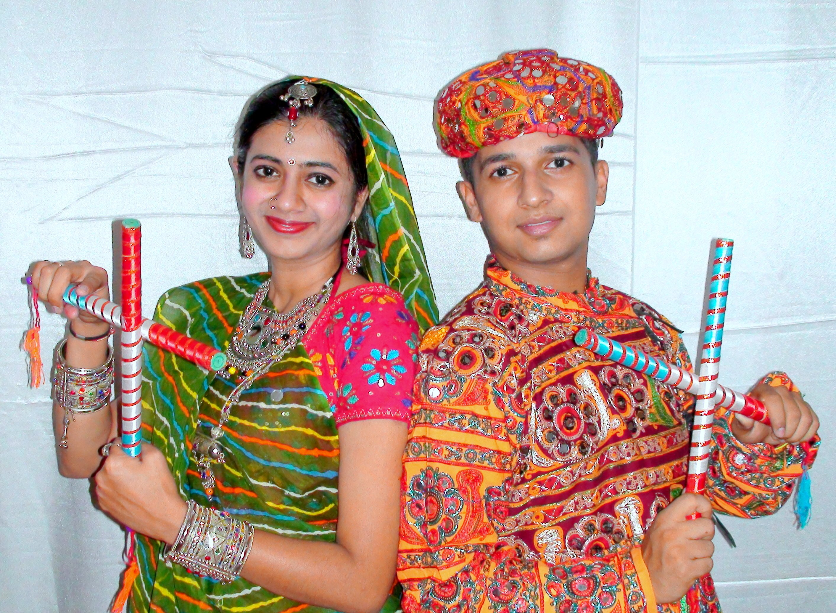 Navratri Garba Couple