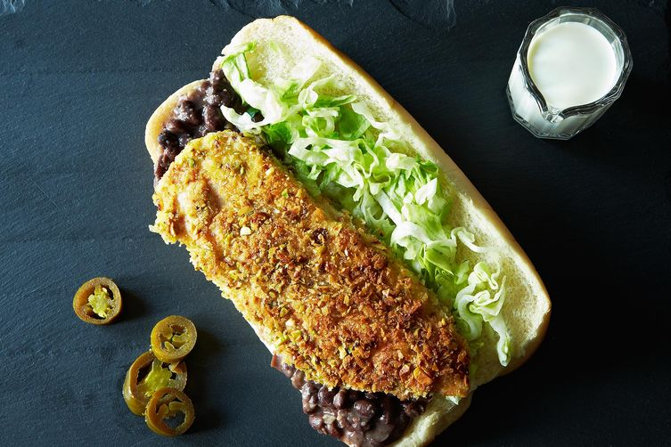 Nutritious Jalaphenos and Lettuce Sandwich