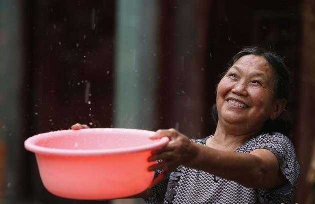 Save rainwater