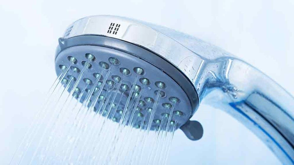 Showers to save water