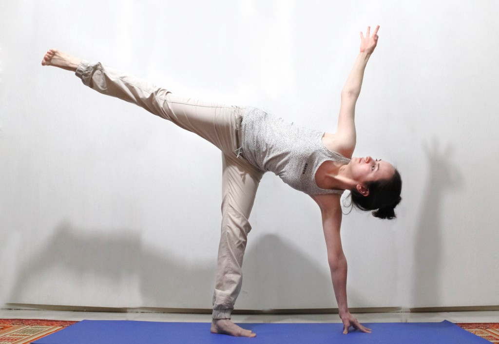 Chandrasana (Crescent Moon Pose)