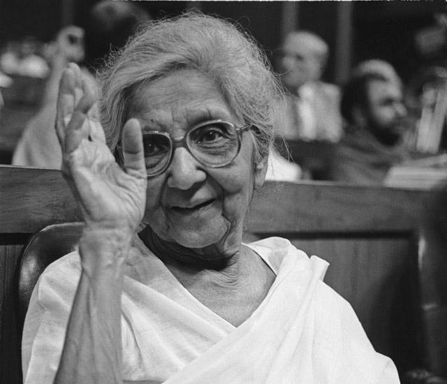 Aruna Asaf Ali (Portrait)
